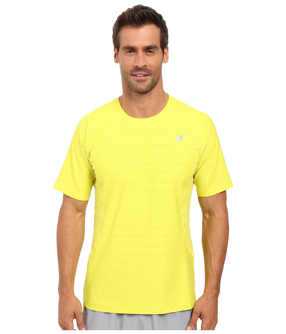 ASICS - Lite-Show Short Sleeve (Sulphur Spring Heather) Men