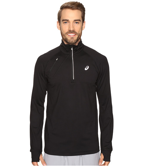 ASICS Thermopolis 1/2 Zip - Performance Black