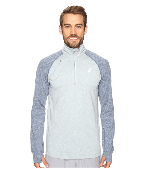 ASICS Thermopolis 1/2 Zip - Arona Heather/Poseidon Heather