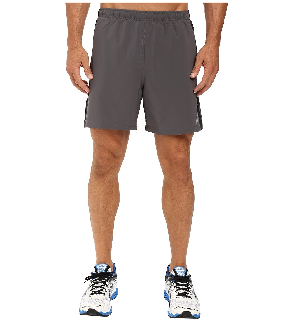 ASICS 2-N-1 Woven 6 Shorts (Iron Gate) Men