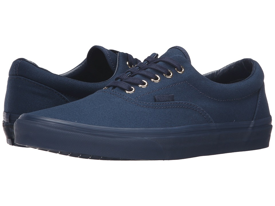 Vans Era ((Gold Mono) Dress Blues) Skate Shoes