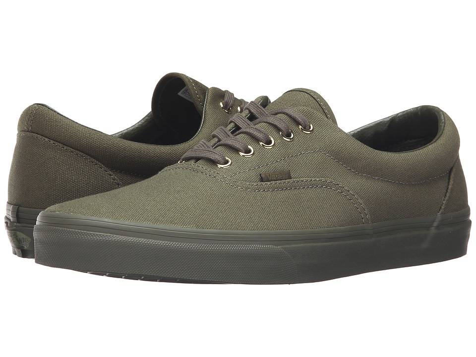 Vans Era ((Gold Mono) Ivy Green) Skate Shoes