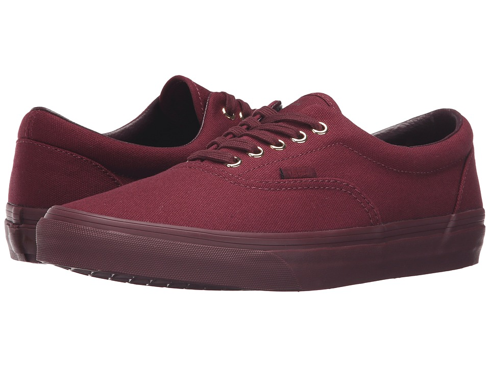 Vans Era ((Gold Mono) Port Royale) Skate Shoes