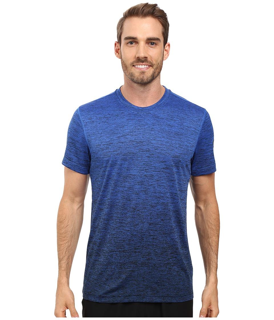 adidas - Prime Gradient Tee (Blue/Black) Men