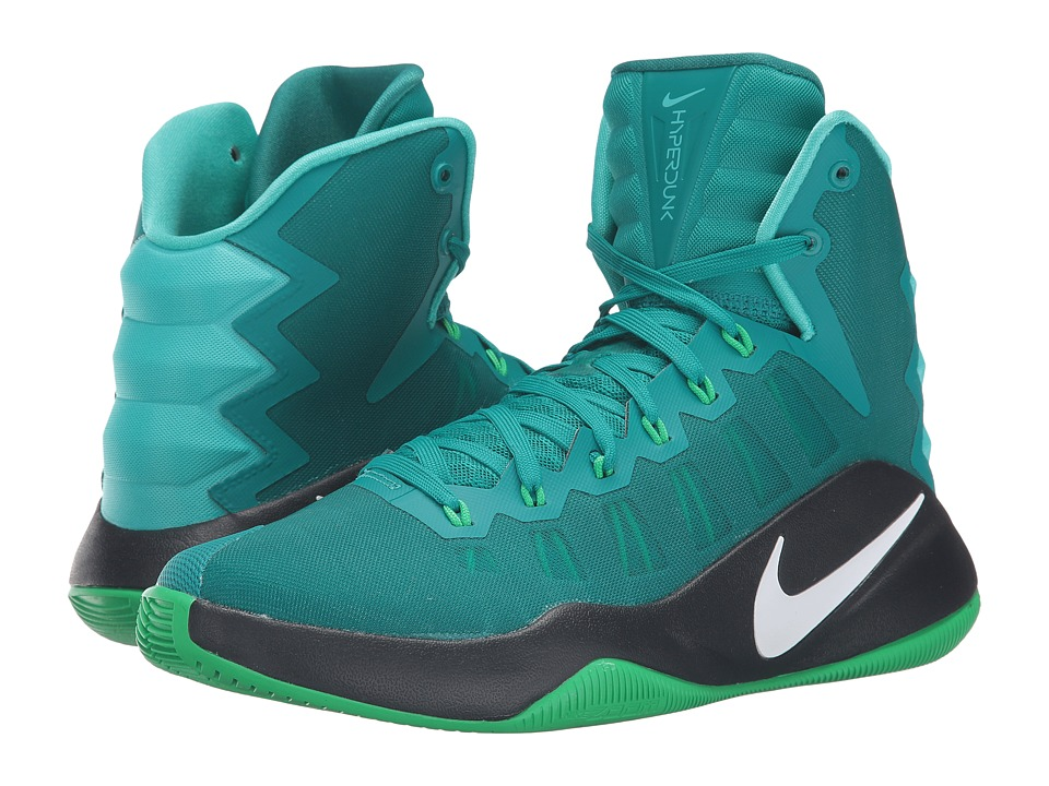 Nike - Hyperdunk 2016 (Rio Teal/Green Spark/Black/White) Men
