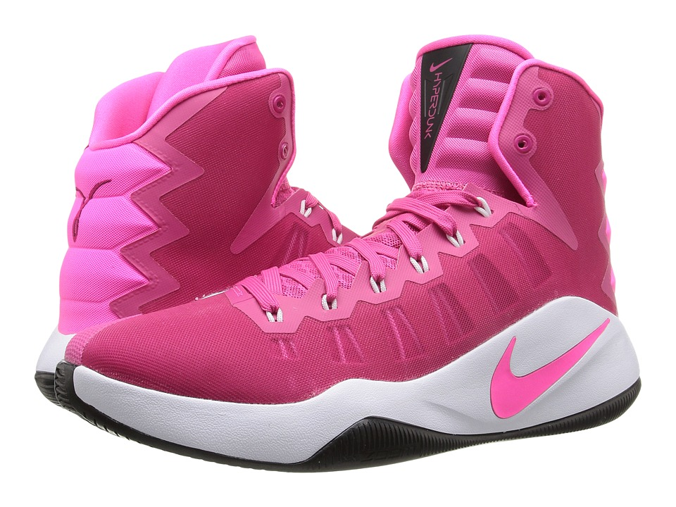 Nike - Hyperdunk 2016 (Vivid Pink/White/Black/Pink Blast) Men