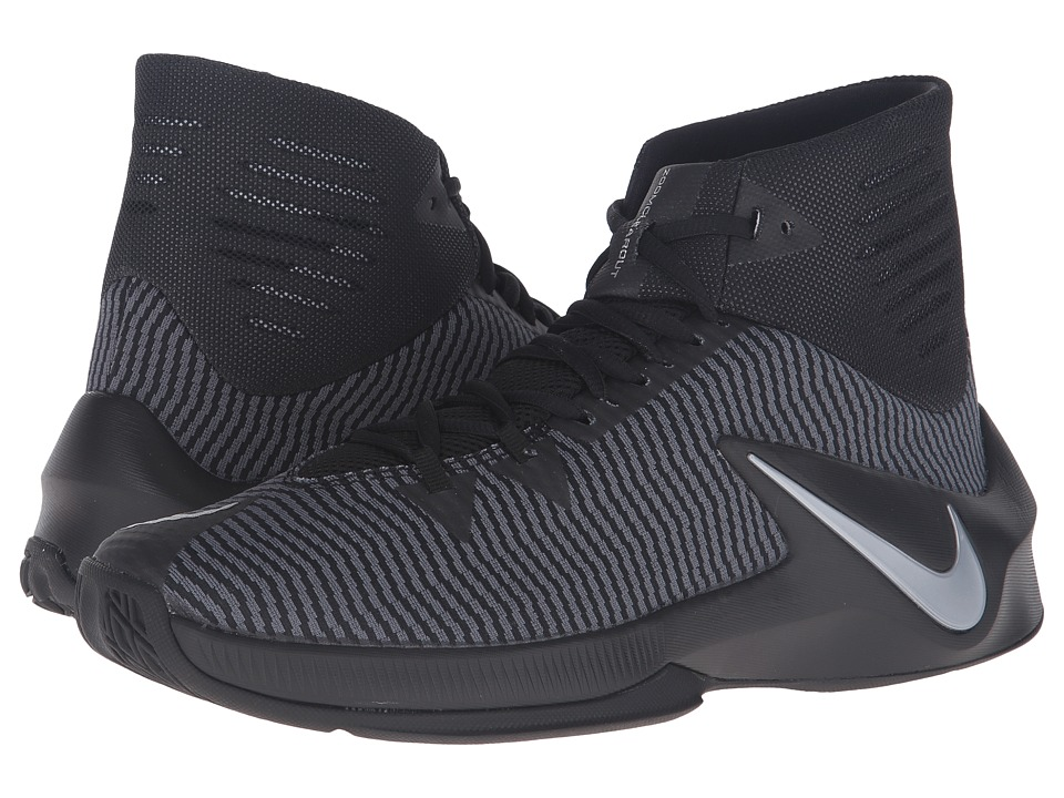 Nike - Zoom Clear Out (Black/Anthracite/Metallic Silver) Men