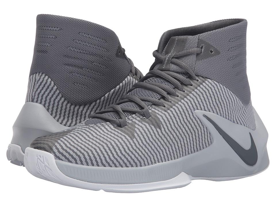 Nike - Zoom Clear Out (Cool Grey/Wolf Grey/White/Black) Men