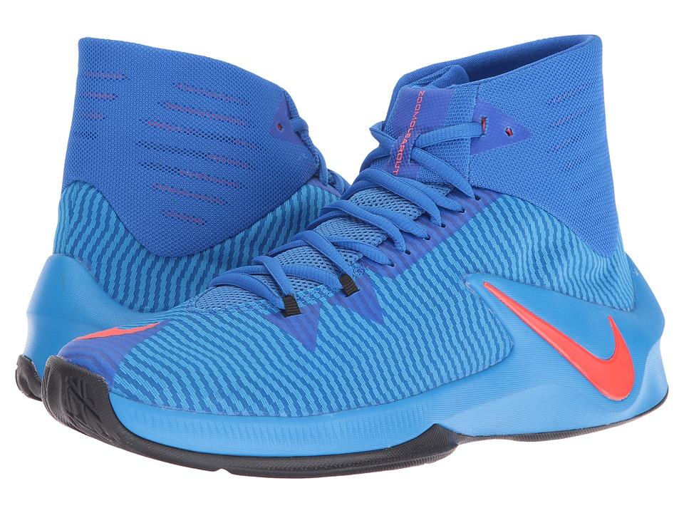 Nike - Zoom Clear Out (Hyper Cobalt/Photo Blue/Black/Bright Crimson) Men