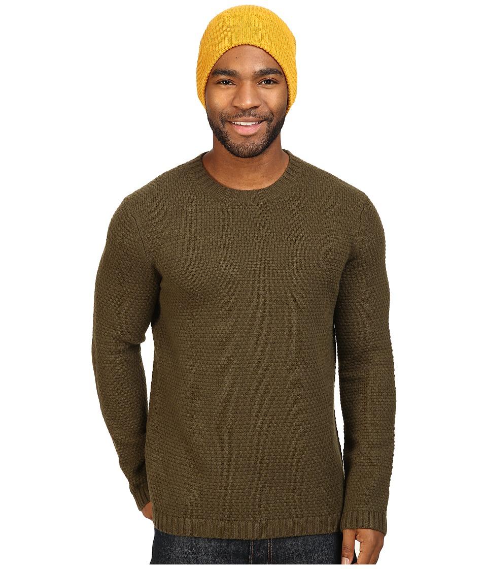 Toad&Co Malamute Crew Sweater (Dark Moss) Men