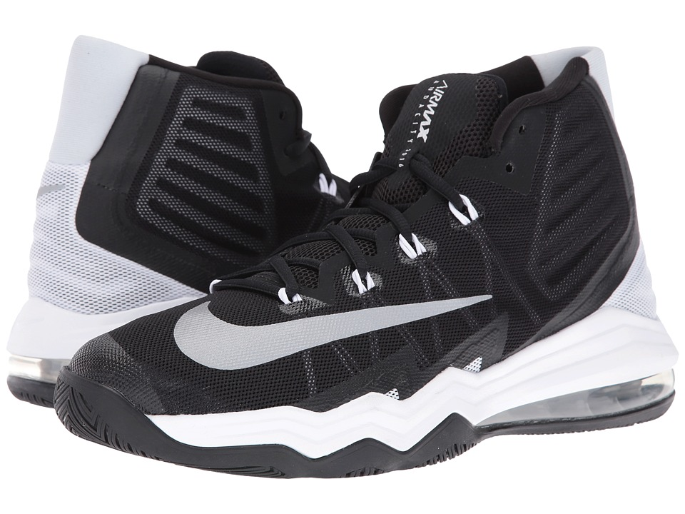 Nike - Air Max Audacity II (Black/White/Pure Platinum/Reflect Silver) Mens Basketball Shoes
