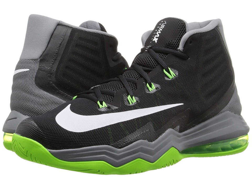 Nike - Air Max Audacity II (Black/Cool Grey/Electric Green/White) Men