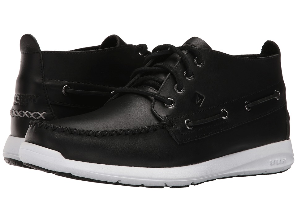 Sperry Top-Sider - Sojourn Chukka Leather Boot (Black) Men