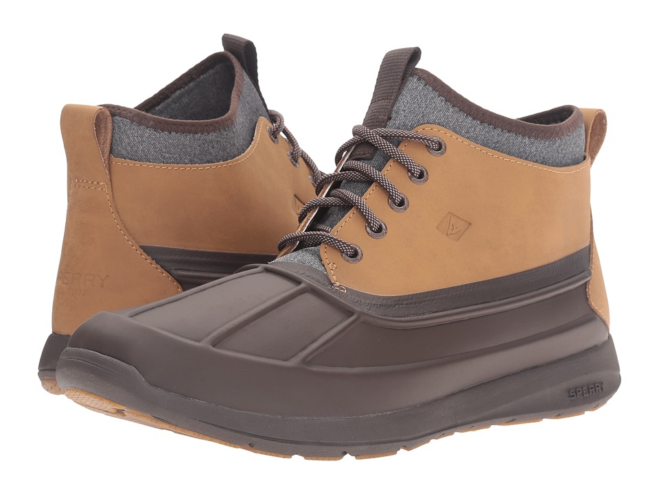 Sperry Top-Sider - Sojourn Duck Chukka Boot (Dark Brown) Men