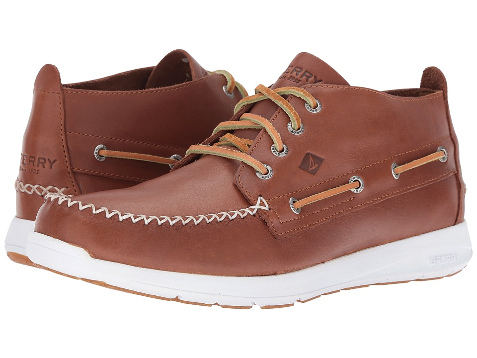 Sperry Top-Sider - Sojourn Chukka Leather Boot (Tan) Men