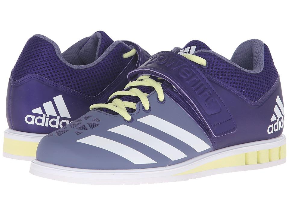 adidas Powerlift 3 (Collegiate Purple/White/Ice Yellow) Women