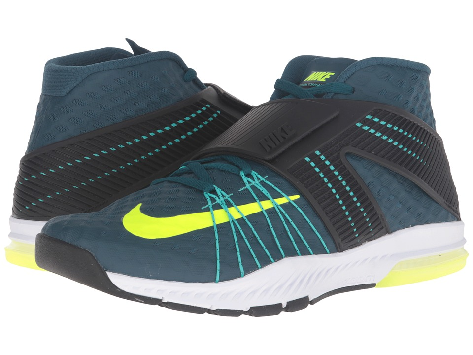 Nike - Zoom Train Toranada (Midnight Turquoise/Black/Hyper Jade/Volt) Men