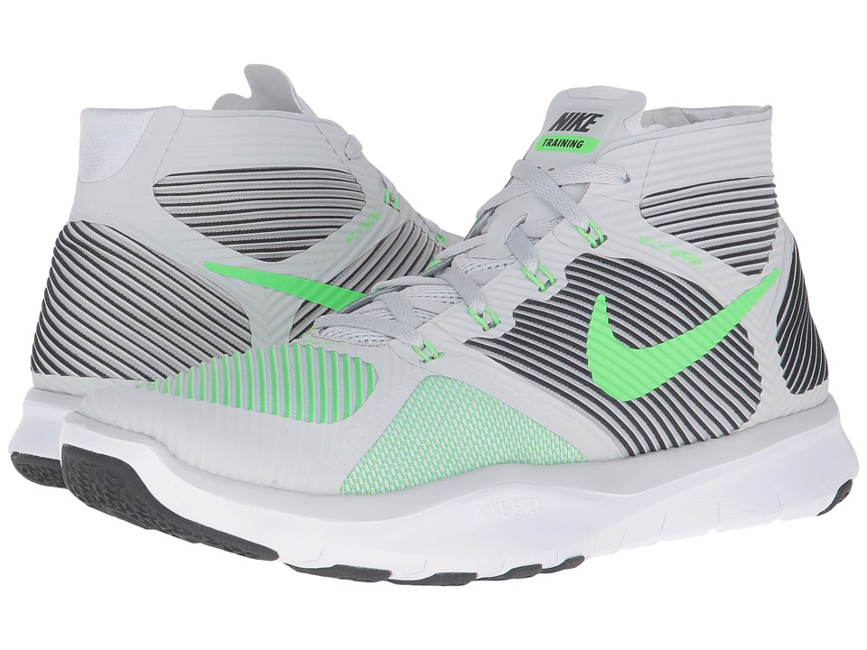 Nike - Free Train Instinct (Pure Platinum/Black/White/Rage Green) Men