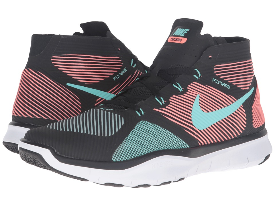 Nike - Free Train Instinct (Black/Bright Mango/White/Hyper Turquoise) Men