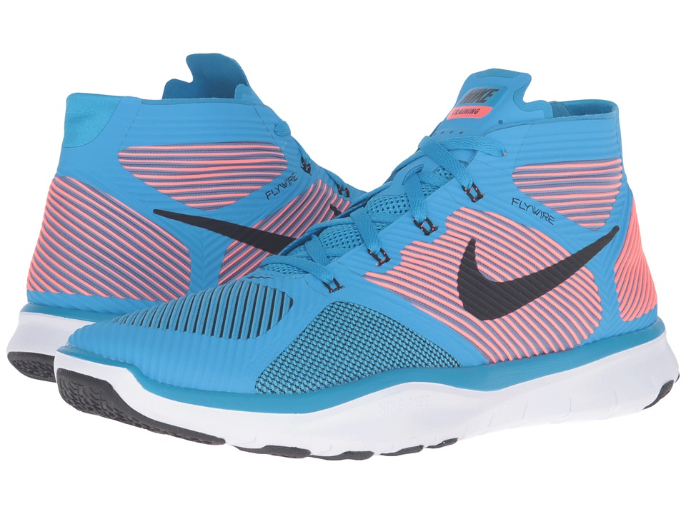 Nike - Free Train Instinct (Blue GLow/Total Crimson/White/Black) Men