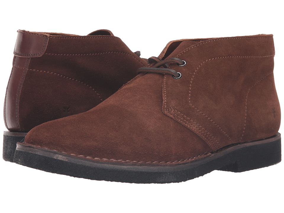 Frye - Arden Chukka (Brown Oiled Suede) Men