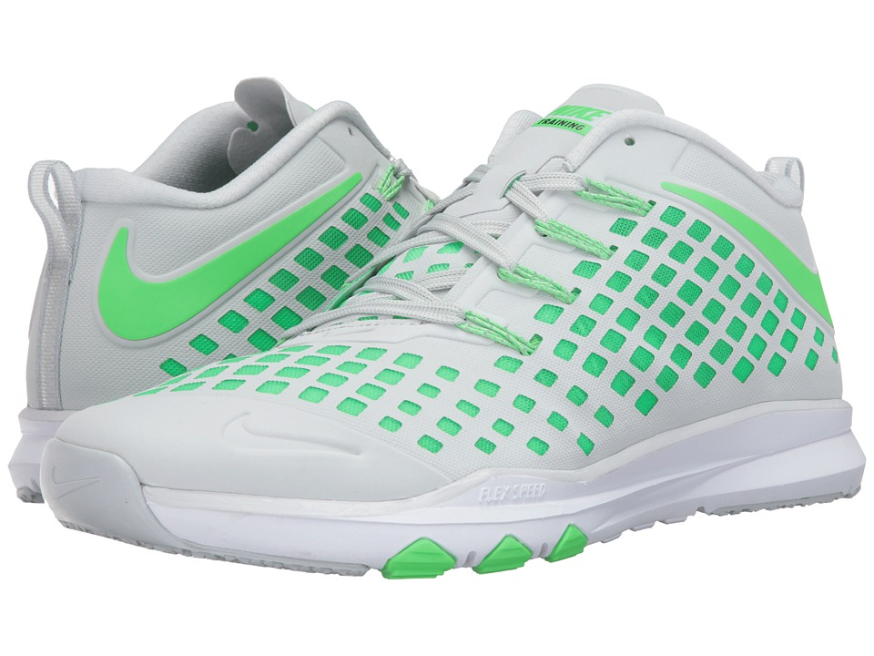 Nike - Train Quick (Pure Platinum/Black/Rage Green) Men