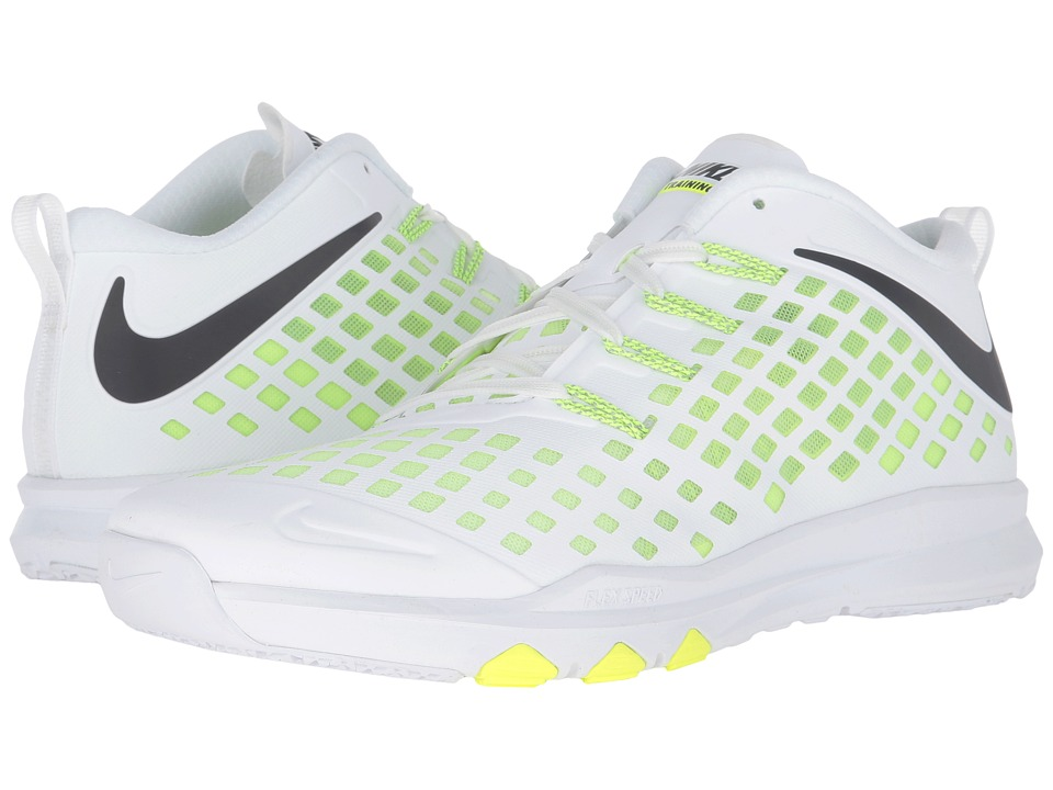 Nike - Train Quick (White/Volt/Black) Men