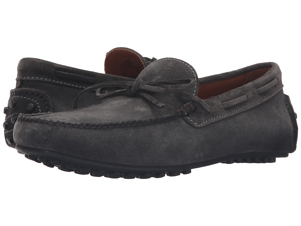 Frye - Allen Tie (Charcoal Oiled Suede) Mens Slip on  Shoes
