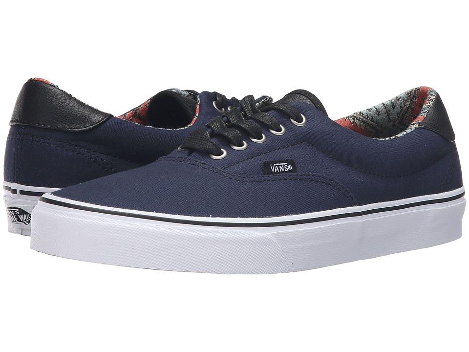 Vans - Era 59 ((C&L) Moroccan Geo/Dress Blues) Skate Shoes