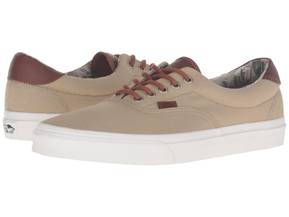 Vans Era 59 ((Desert Cowboy) Khaki) Skate Shoes