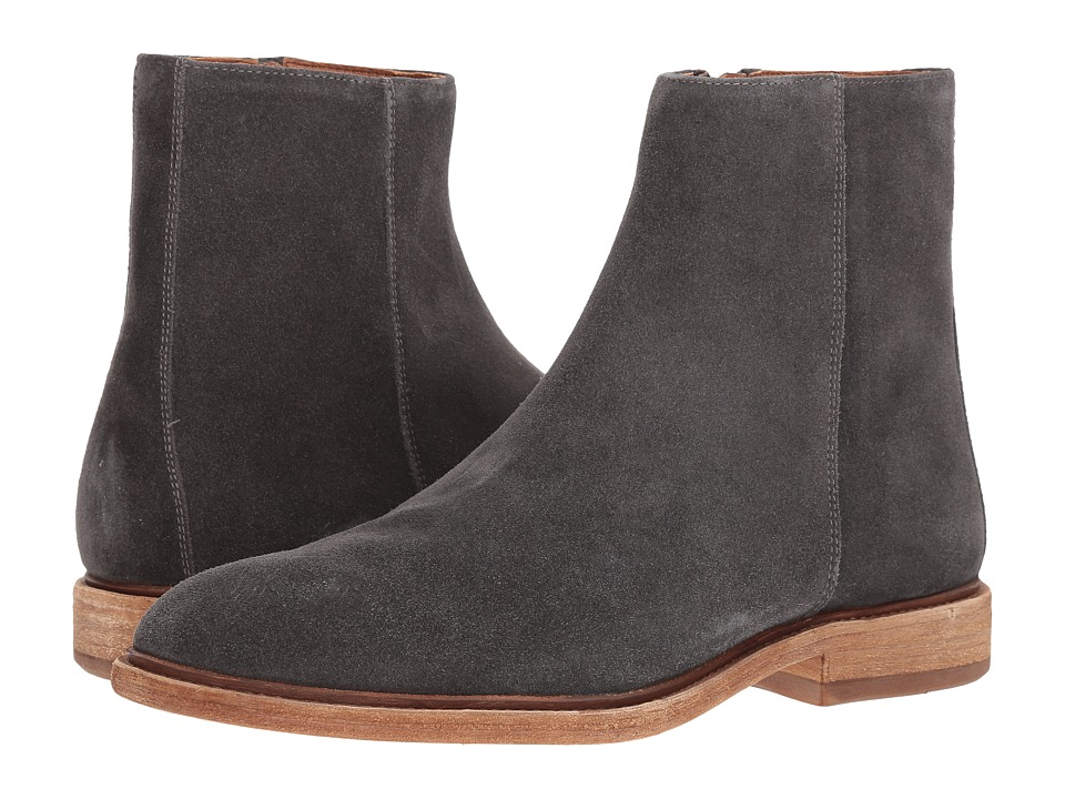 Frye Chris Inside Zip (Slate Oiled Suede) Men