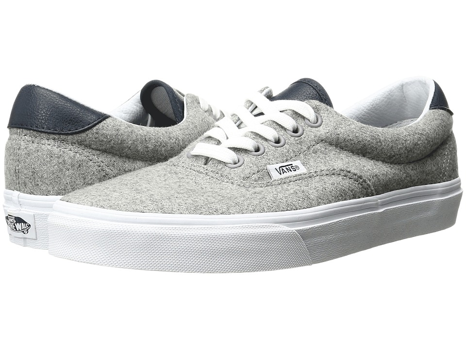 Vans Era 59 ((Varsity) Gray/True White) Skate Shoes