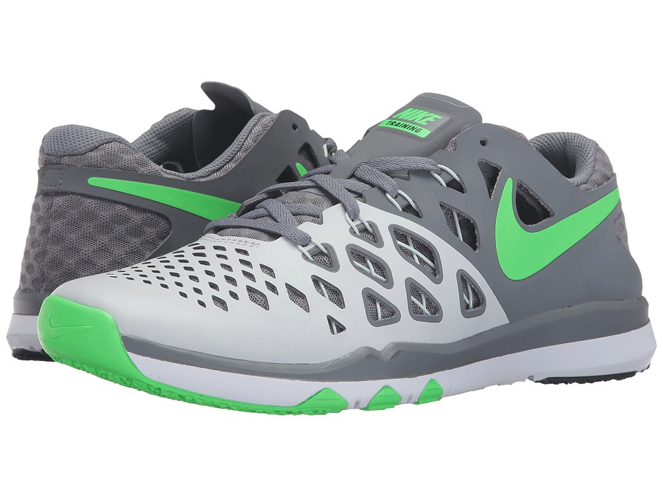 Nike - Train Speed 4 (Pure Platinum/Cool Grey/Black/Rage Green) Men