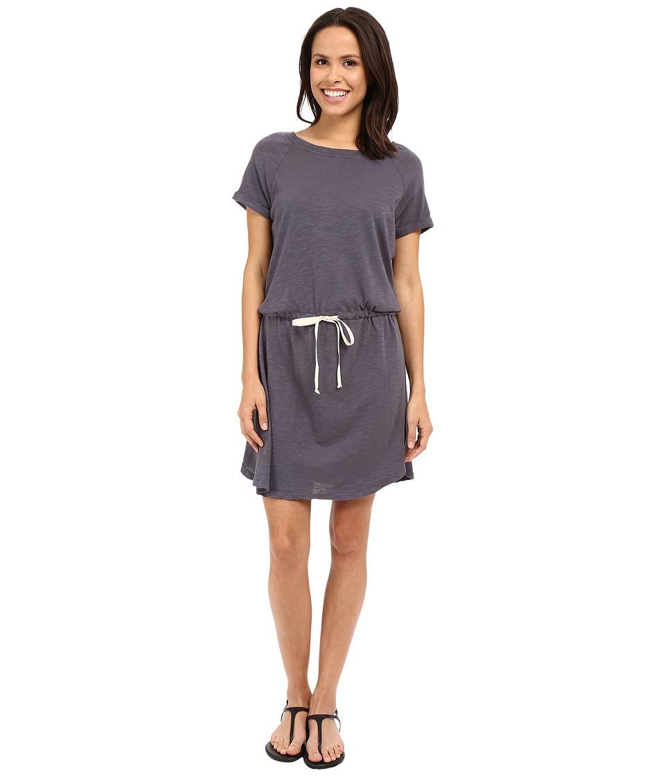 Allen Allen Raglan Roll Sleeve Dress Flint Womens Dress