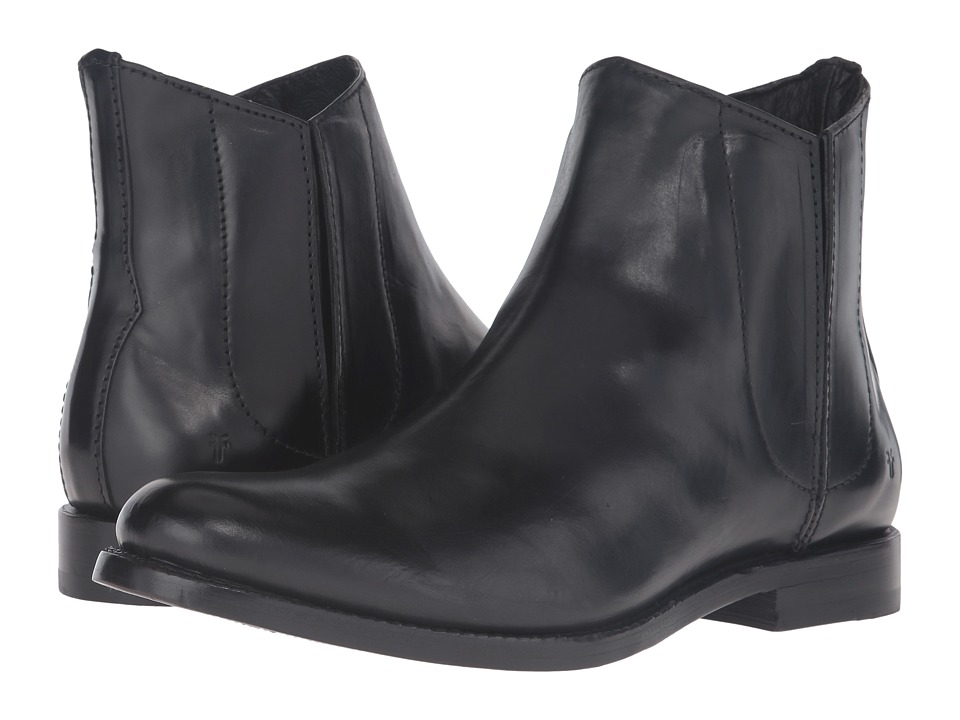 Frye - Jet Chelsea (Black Smooth Veg Calf) Men