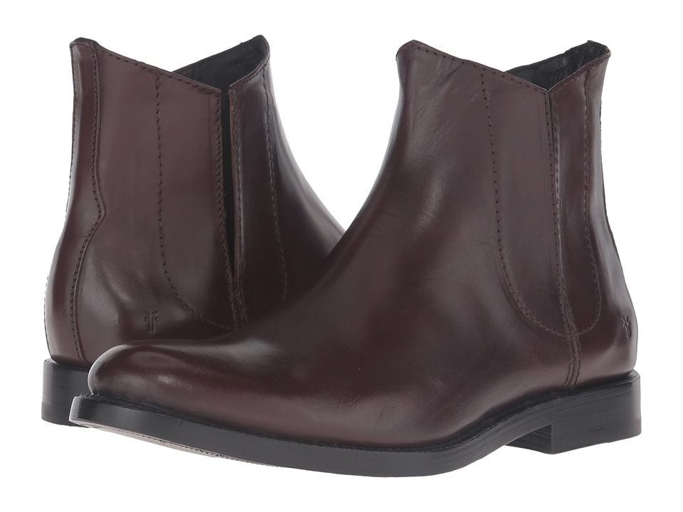 Frye - Jet Chelsea (Dark Brown Smooth Veg Calf) Men
