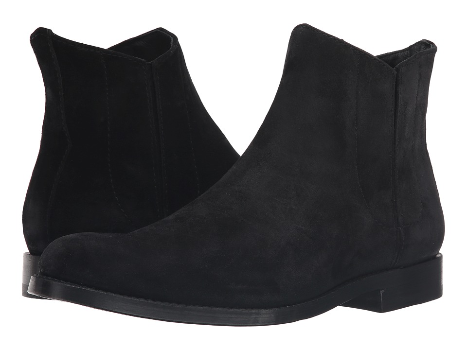 Frye - Jet Chelsea (Black Oiled Suede) Men