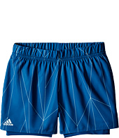 adidas Kids - Club Printed Shorts (Little Kids/Big Kids)