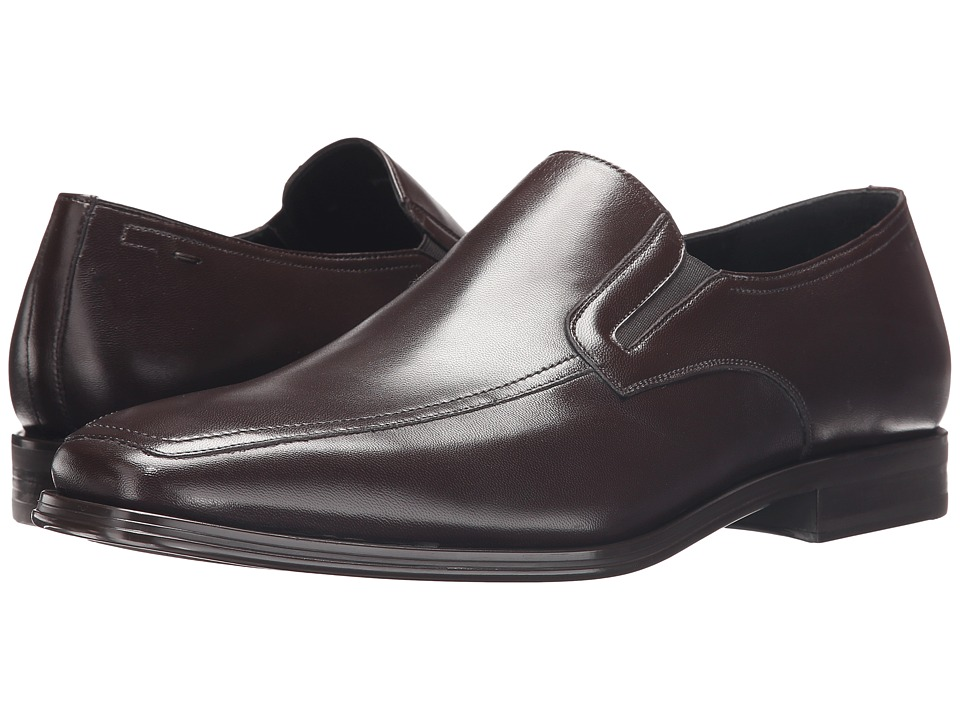 Magnanni - Antonio Lineo Merino (Brown) Mens Slip-on Dress Shoes