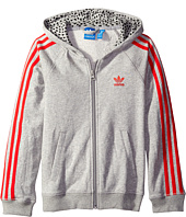 adidas Originals Kids - Young Wild & Free Trefoil Hoodie (Little Kids/Big Kids)