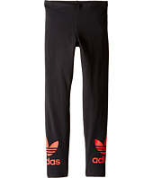 adidas Originals Kids - Young Wild & Free Trefoil Leggings (Little Kids/Big Kids)