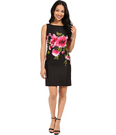 Tahari by ASL Petite - Petite Floral Printed Jacquard Dress