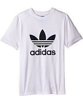 adidas Originals Kids - Everyday Iconics Trefoil Tee (Little Kids/Big Kids)