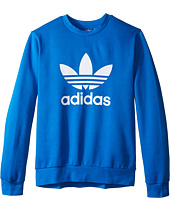 adidas Originals Kids - Everyday Iconics Trefoil Crew Top (Little Kids/Big Kids)