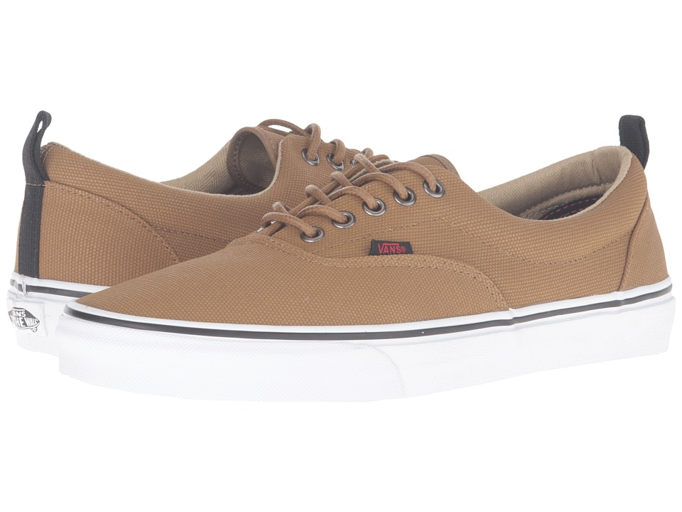 Vans Era PT ((Military Twill) Ermine/True White) Skate Shoes