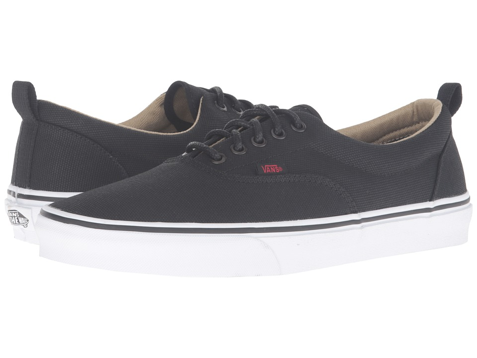 Vans Era PT ((Military Twill) Black/True White) Skate Shoes