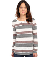 Dylan by True Grit - Peruvian Stripe Long Sleeve Tee