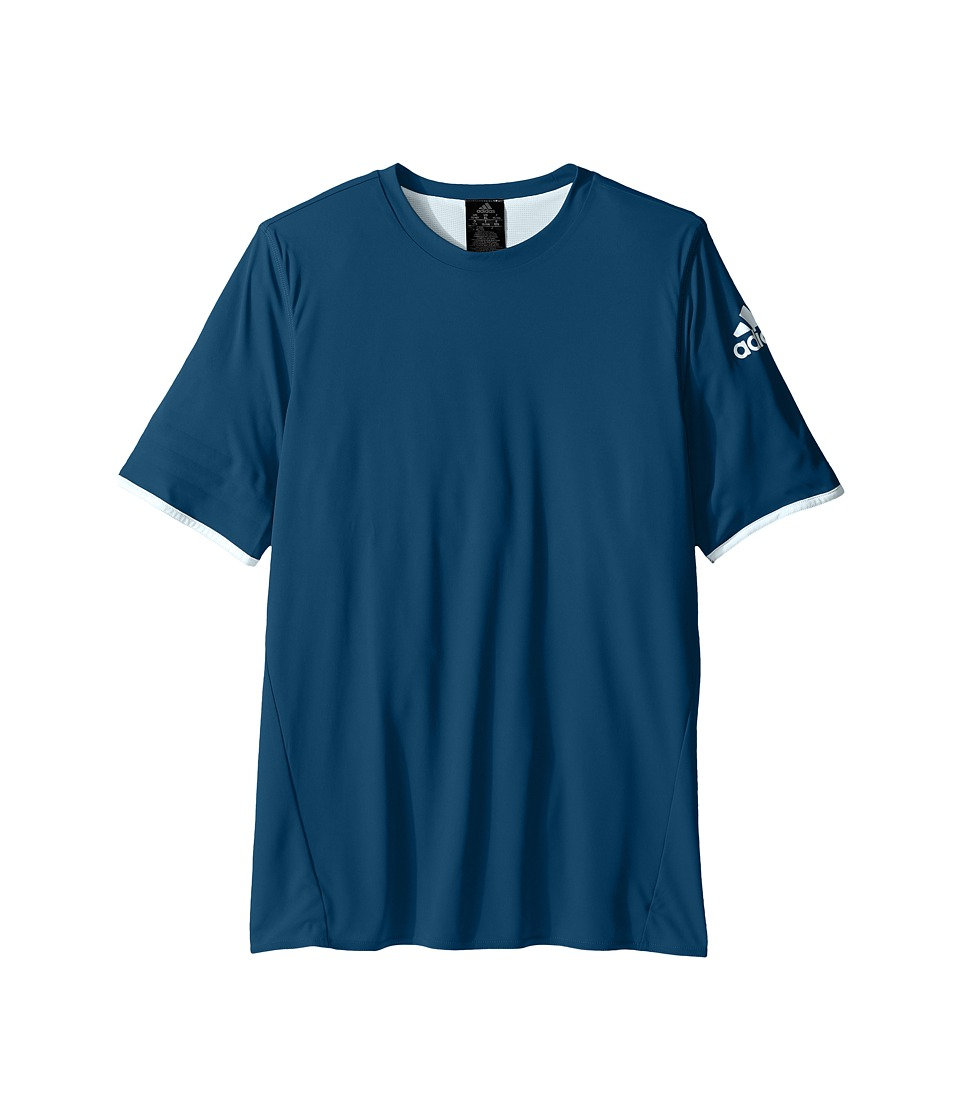adidas Kids UFB Reversible Jersey (Little Kids/Big Kids) (Tech Steel/Ice Blue) Kid