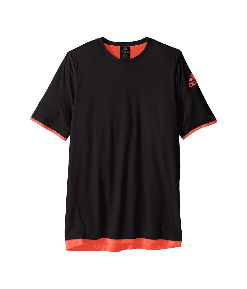 adidas Kids UFB Reversible Jersey (Little Kids/Big Kids) (Black/Solar Red) Kid