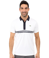 Lacoste - Golf Short Sleeve Ultra Dry Chest Stripe